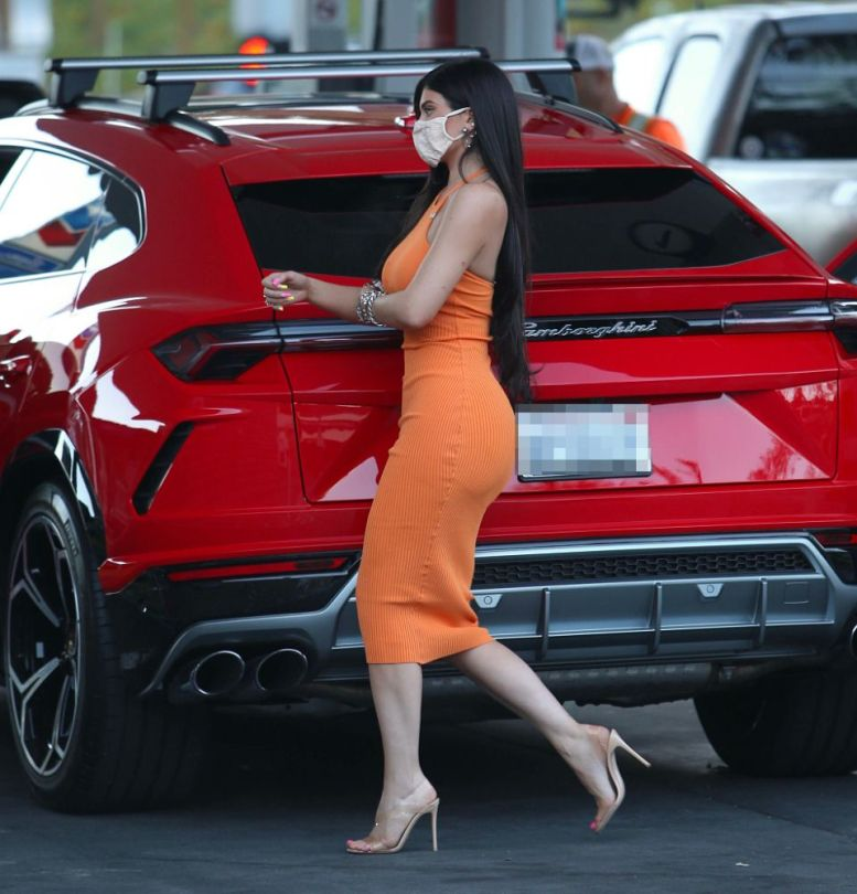 Kylie Jenner In Tight Dress