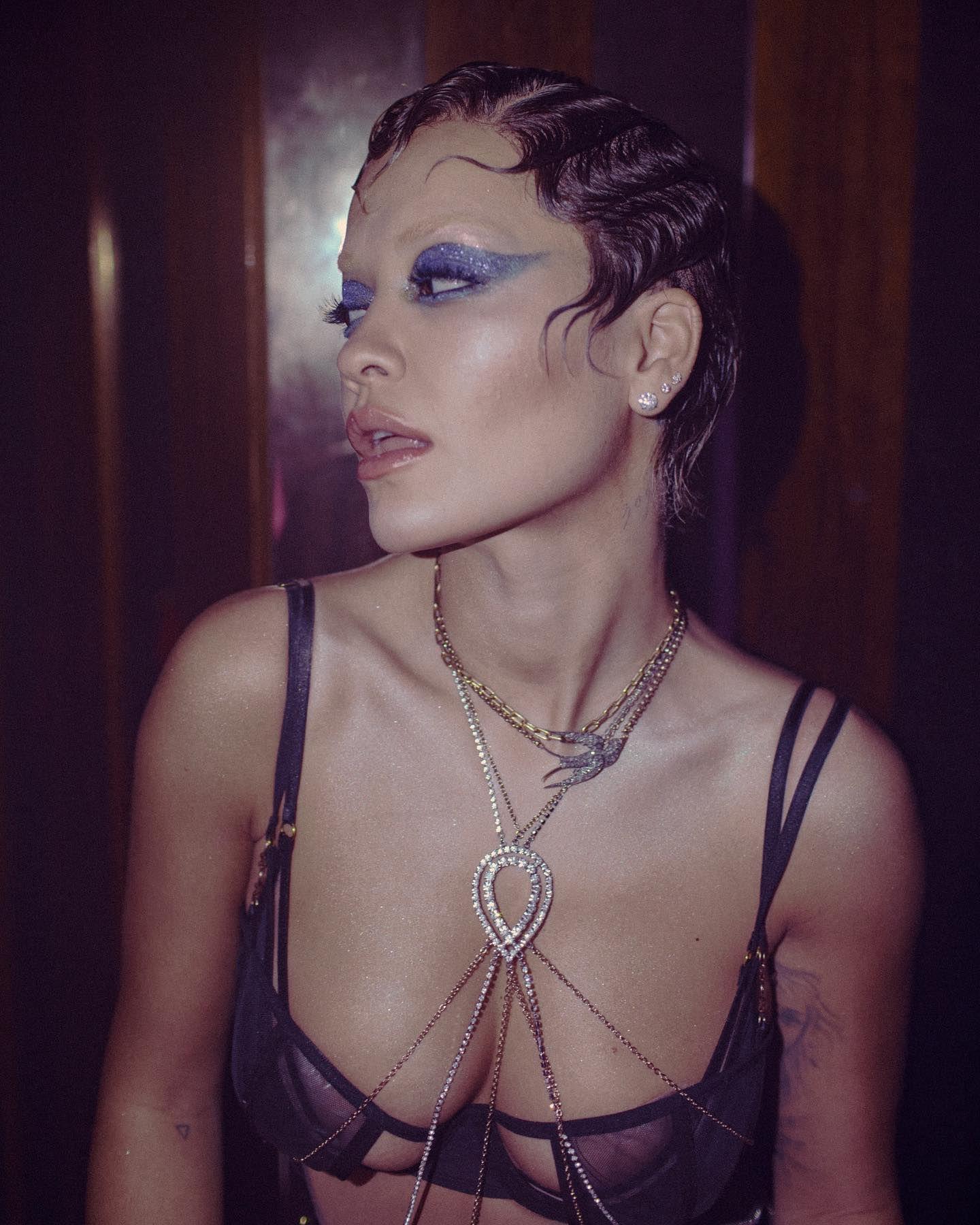 Rita Ora In Lingerie