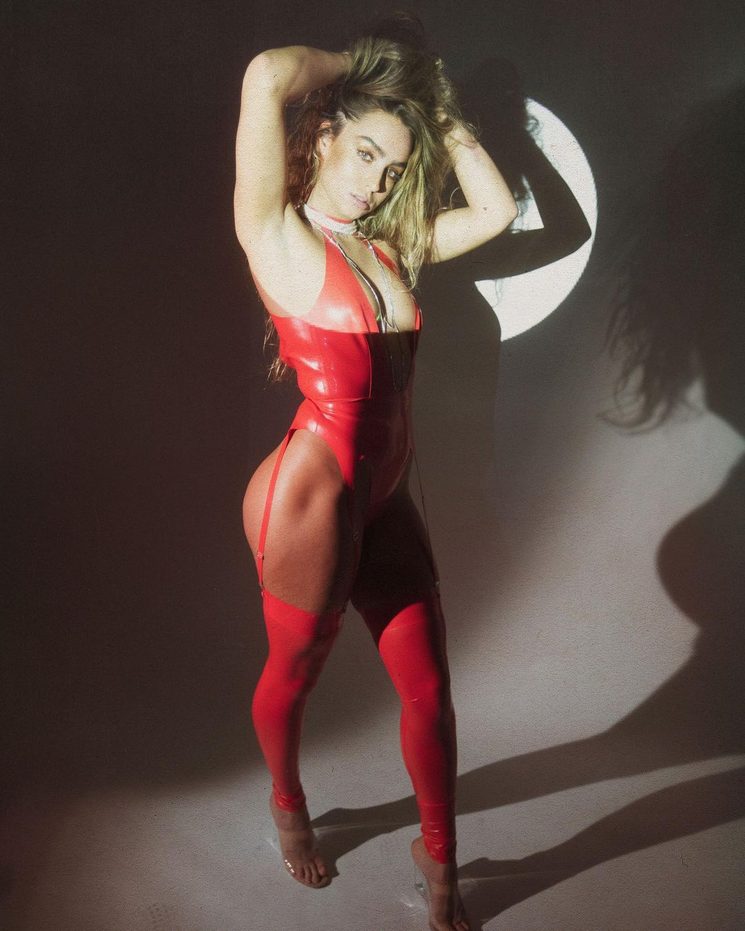 Sommer Ray Sexy In Red