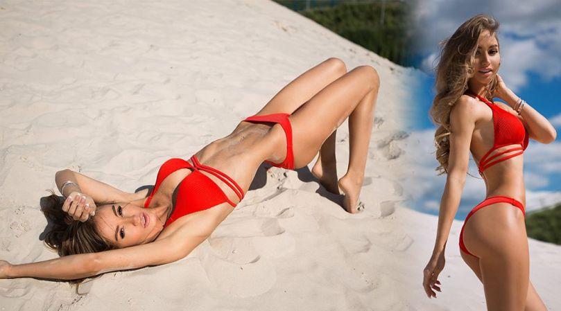 Valentina Grishko Sexy Ass In Bikini