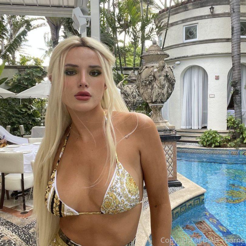Bella Thonre In Bikini Top