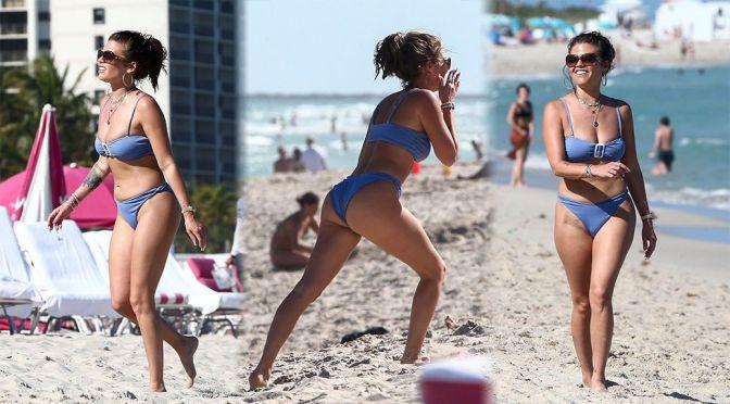 Chanel West Coast – Sexy Body in Bikini on the Beach in Miami