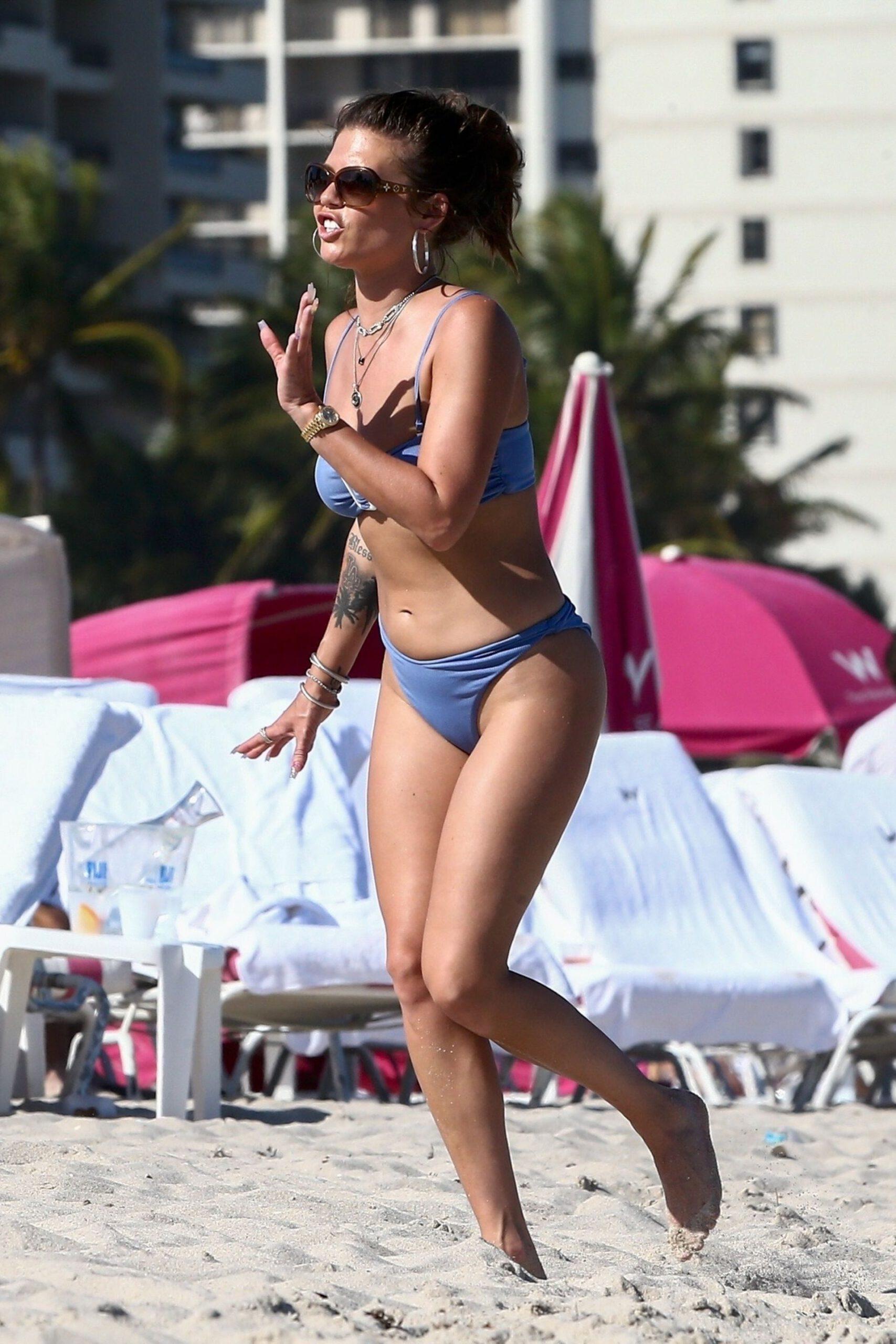 Chanel West Coast Sexy In Bikini