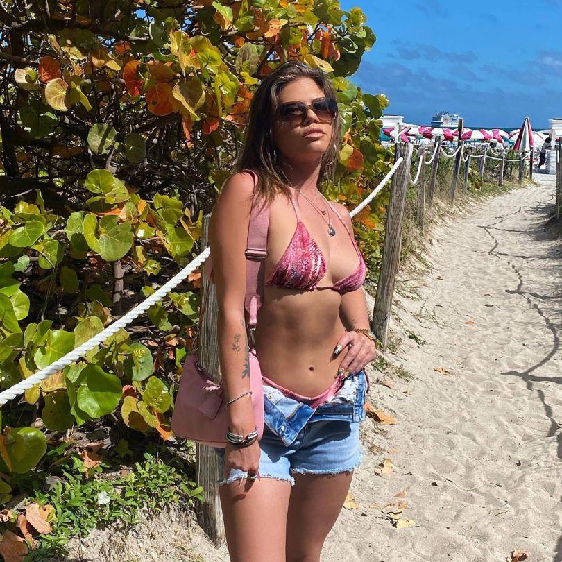 Chanel West Coast In Bikini