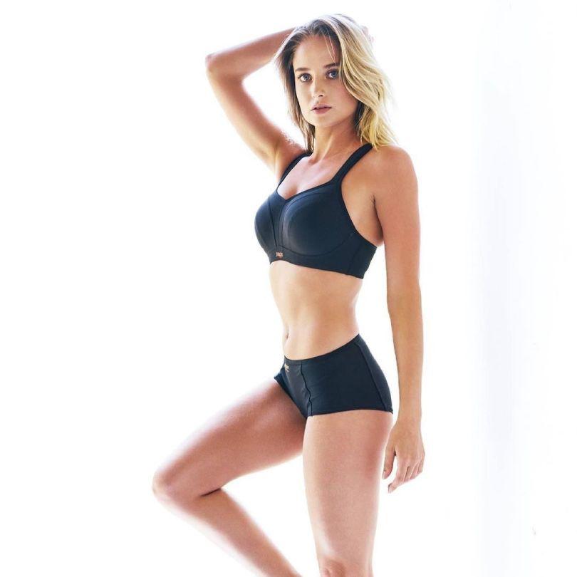 Genevieve Morton Sexy In Underwear