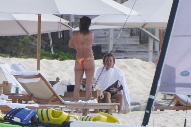 Hailey Bieber In Bikini