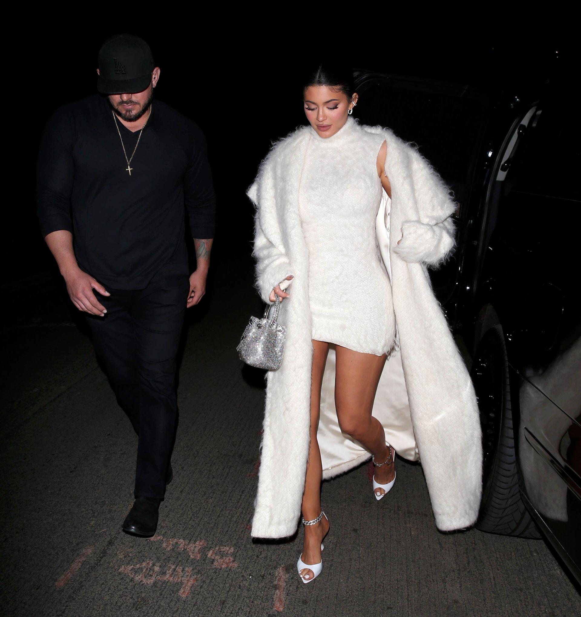 Kylie Jenner Sexy Short Dress