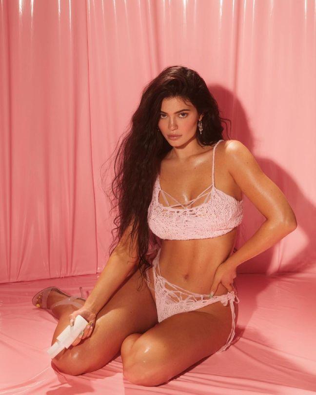 Kylie Jenner In Lingerie