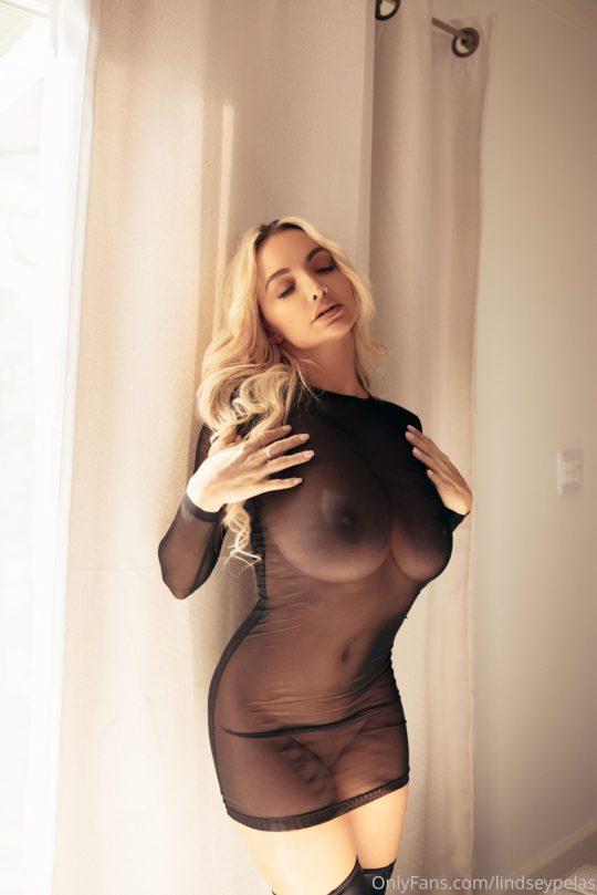 Lindsey Pelas Sexy Tits
