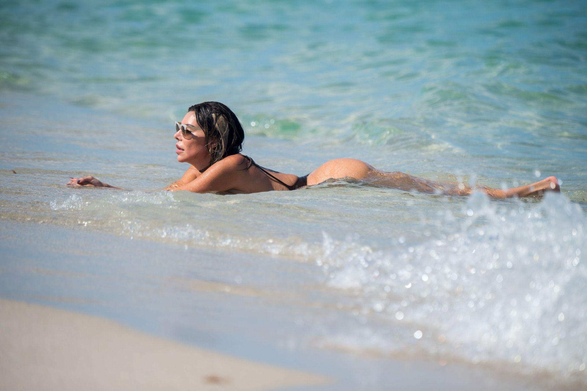 Liziane Gutierrez Thong Swimsuit