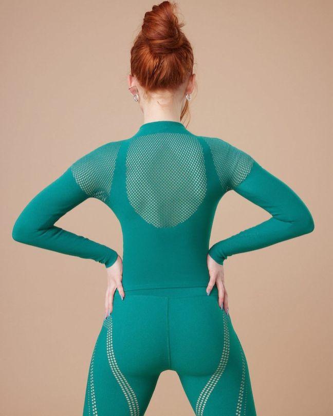 Madelaine Petsch Beautiful Ass In Fabletics