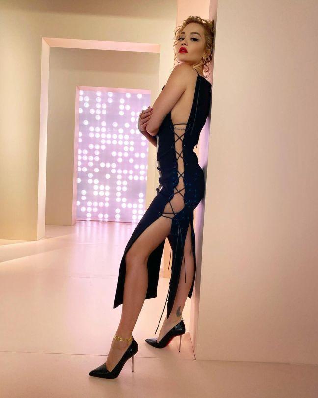 Rita Ora Beautiful In Sexy Dress