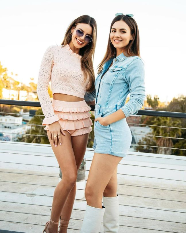 Victoria And Madions Sexy Sisters