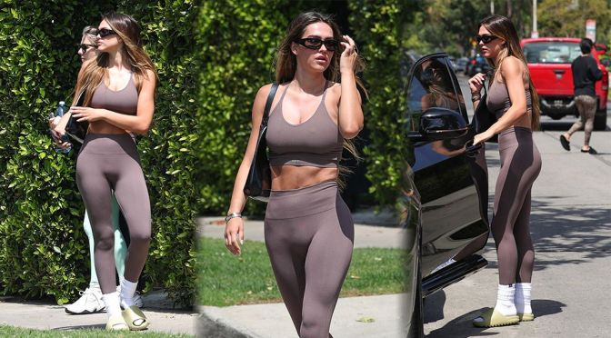 Amelia Gray Hamlin – Hot Toned Body in Leggings and Sports Bra Out in West Hollywood
