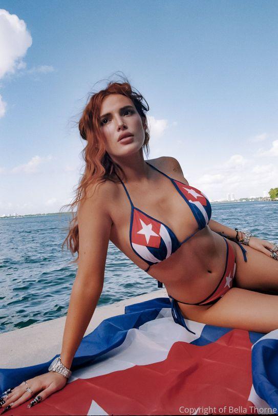 Bella Thorne Big Tits In Bikini