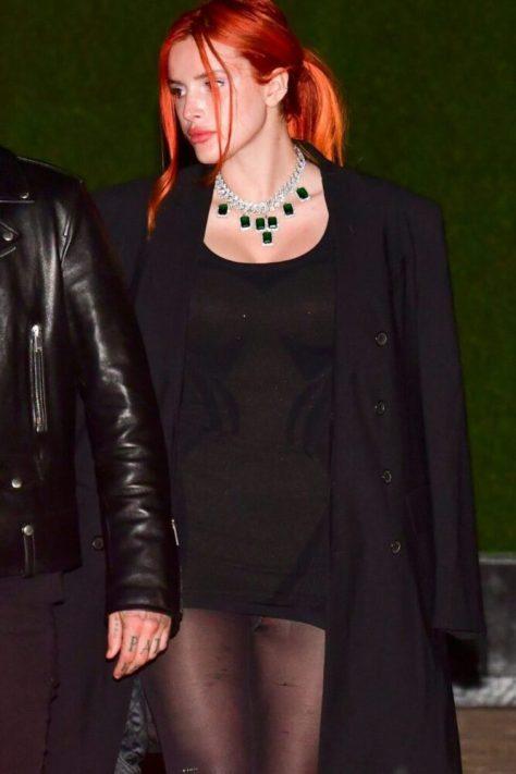 Bella Thorne Sexy Upskirt