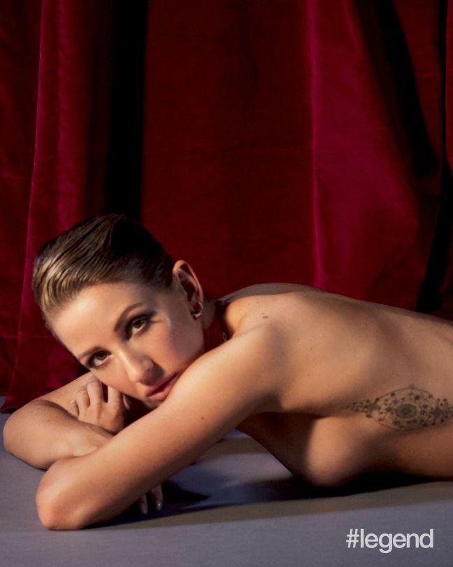 Ellie Gouldnig Topless
