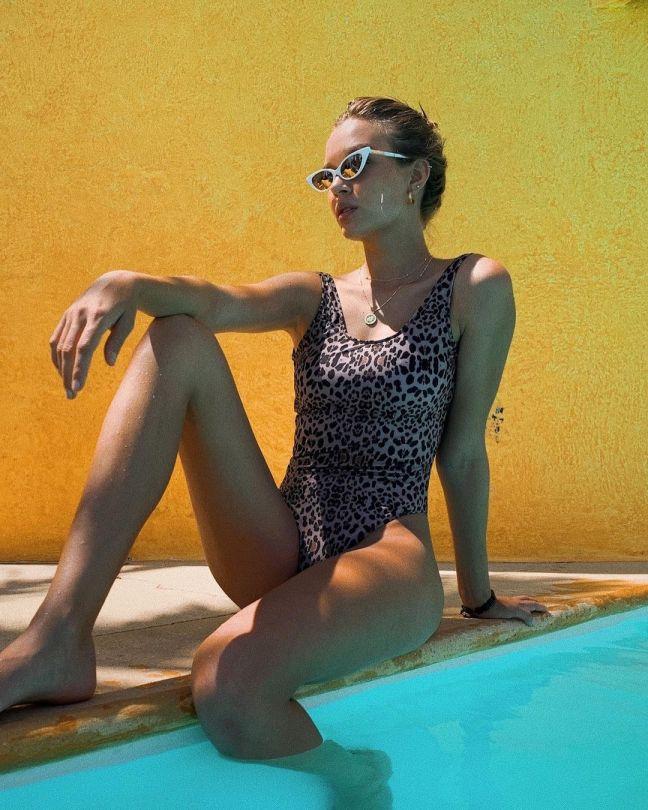 Jospehine Skriver Sexy In Swimsuit