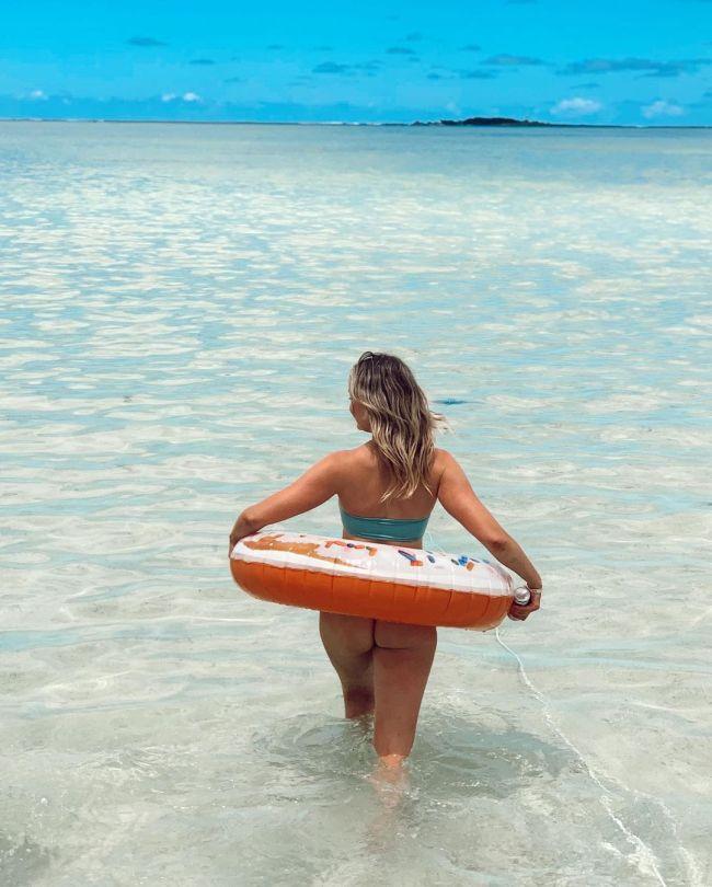 Katrina Bowden In G String Bikini