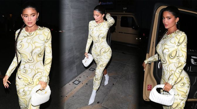 Kylie Jenner – Beautiful Busty Candids at Nobu in West Hollywood