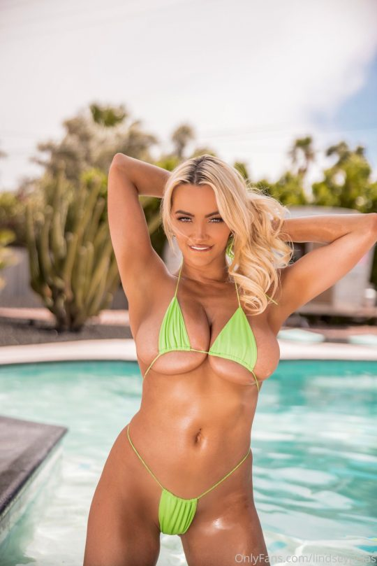 Lindsey Pelas In Tiny Bikini