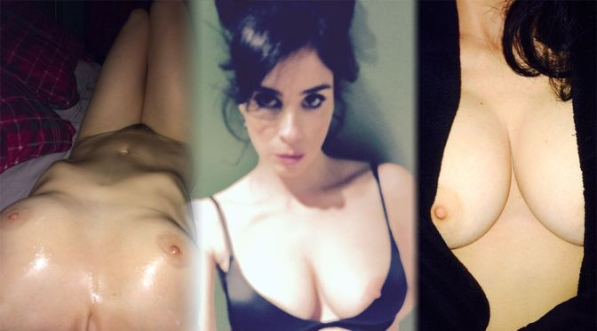 Sarah Silverman – Sexy Boobs in a Topless Leaked Pictures (NSFW)