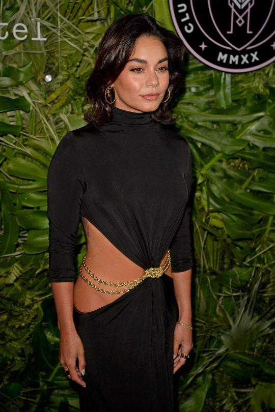 Vanessa Hudgens Sexy Dress