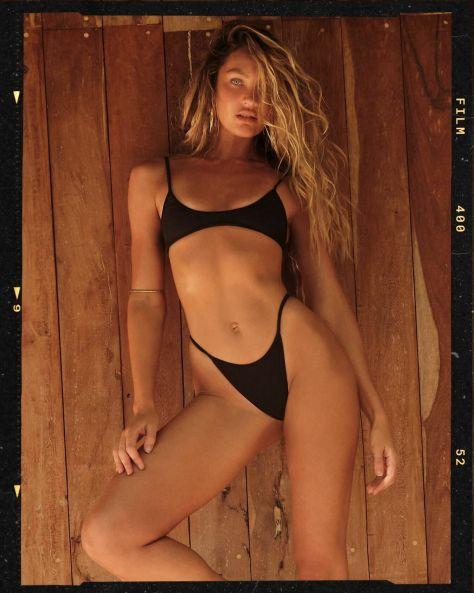 Candice Swanepoel Gorgeous In Bikini