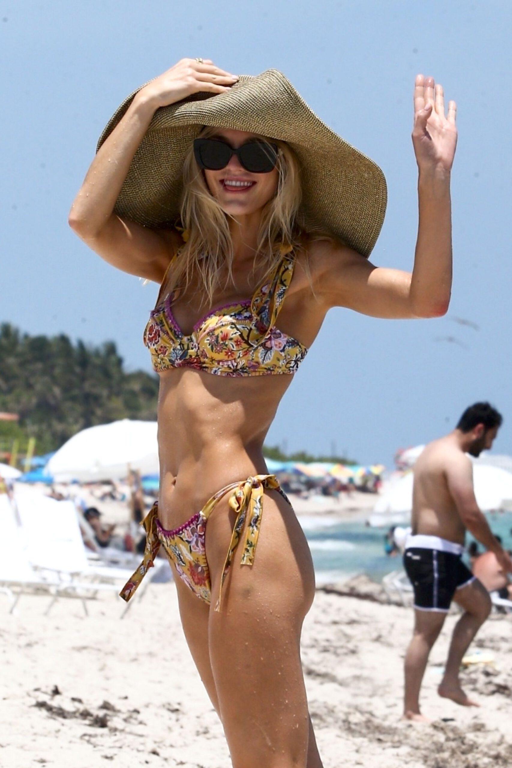 Joy Corrigan In Tiny Bikini