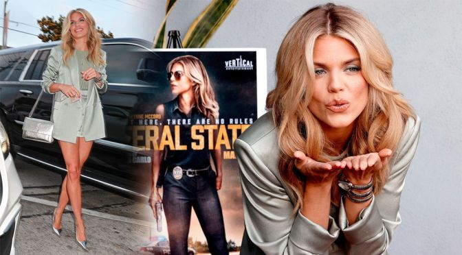 """AnnaLynne McCord – Gorgeous Legs at """"Feral State"""" Premiere in Los Angeles"""