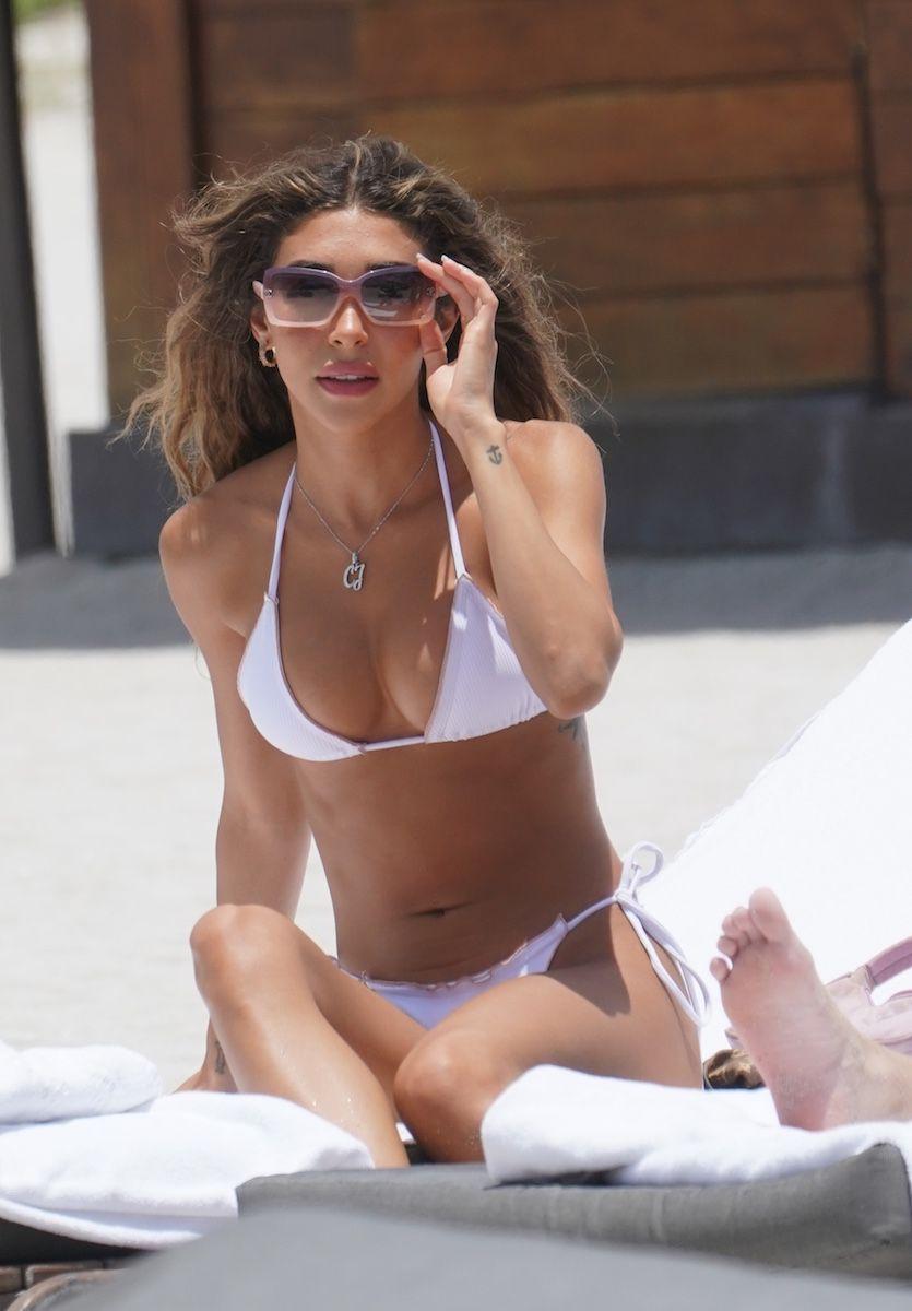 Chantel Jeffries Sexy Boobs In Bikini