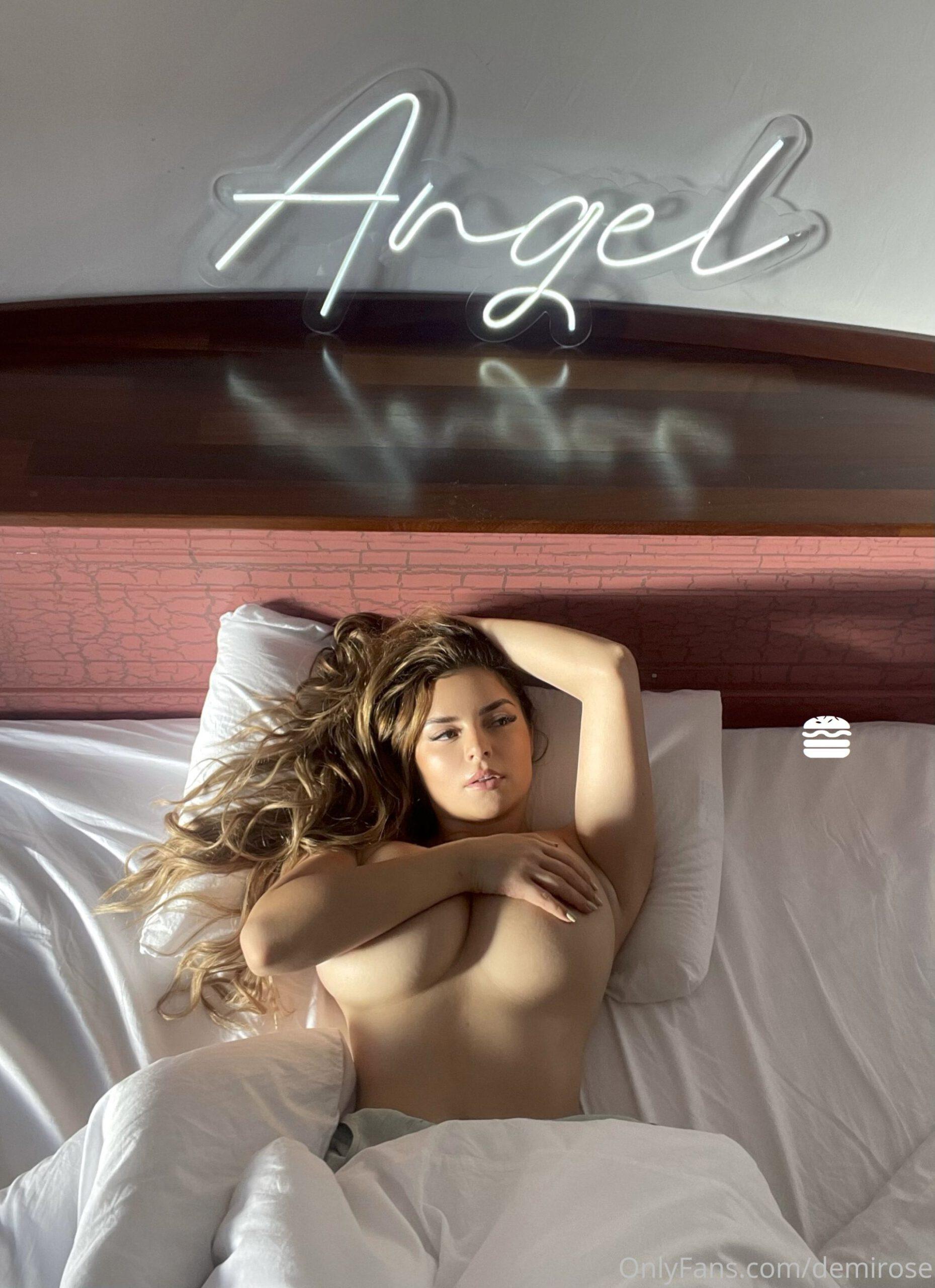 Demi Rose Naked In Bed