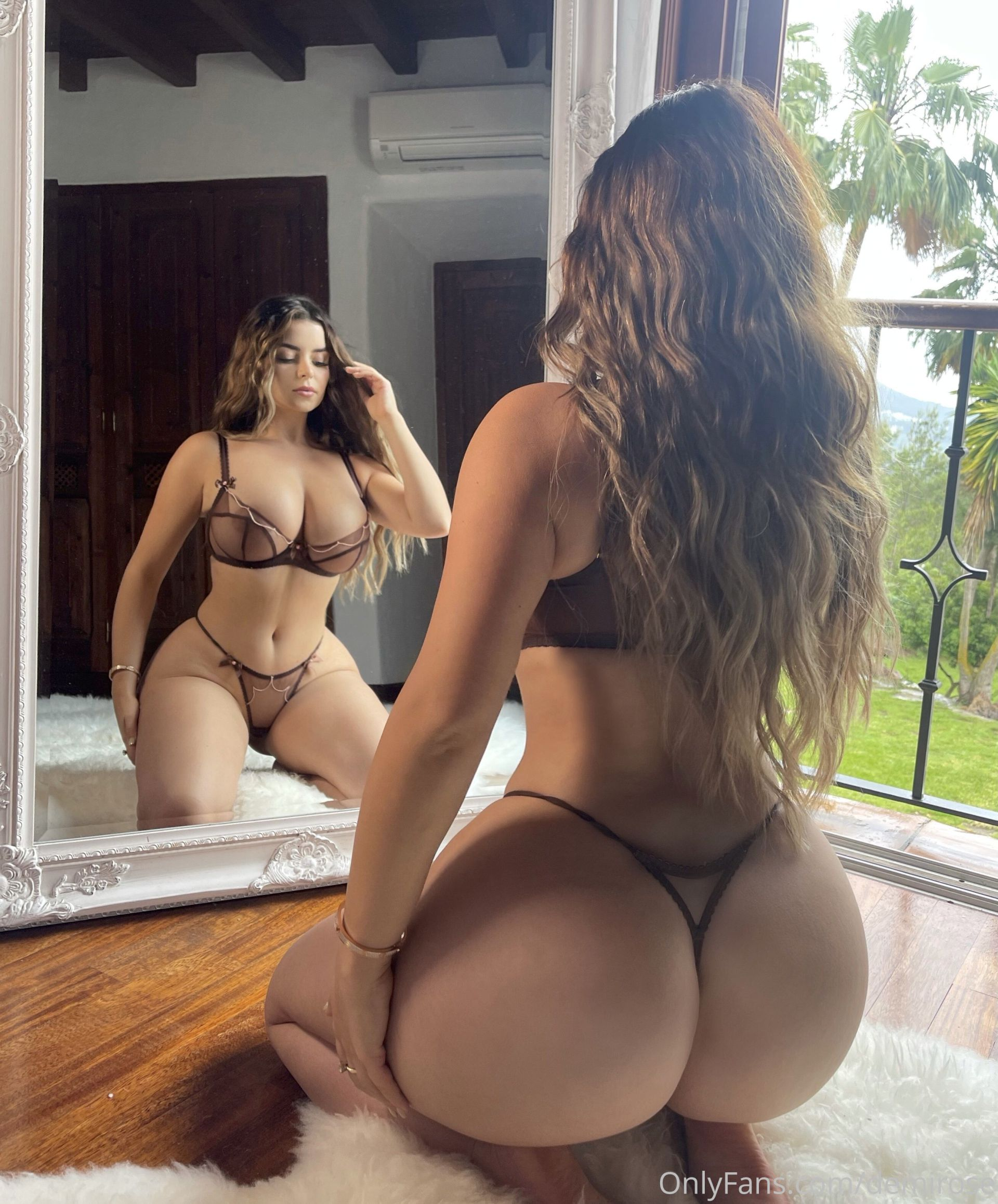 Demi Rose In A Tiny Lingerie