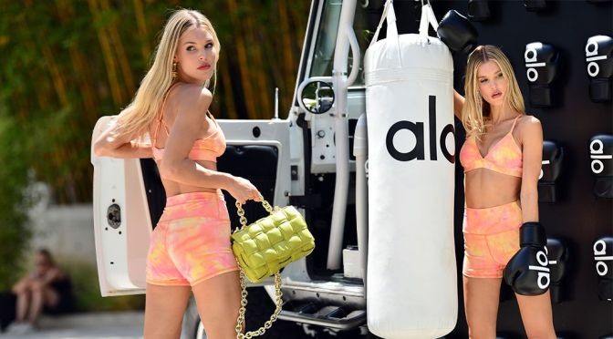 Joy Corrigan – Sexy Body in a Hot Yoga Outfit at Alo House in Los Angeles