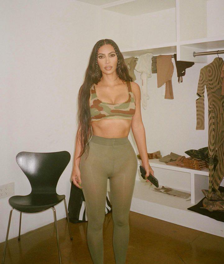 Kim Kardashian Beautiful Big Boobs