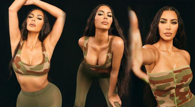Kim Kardashian – Gorgeous Big Boobs in a Sexy Cleavage