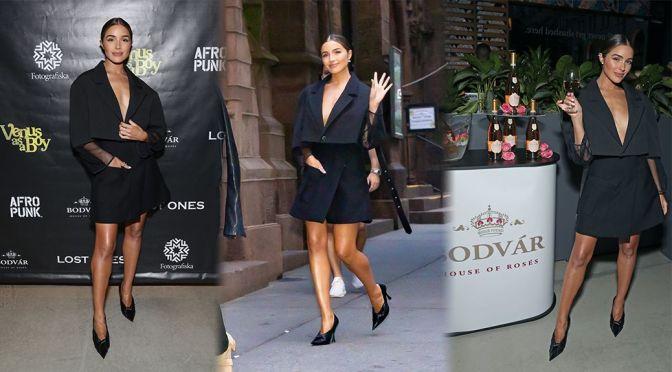 "Olivia Culpo – Beautiful at ""Venus as a Boy"" Premiere in New York"