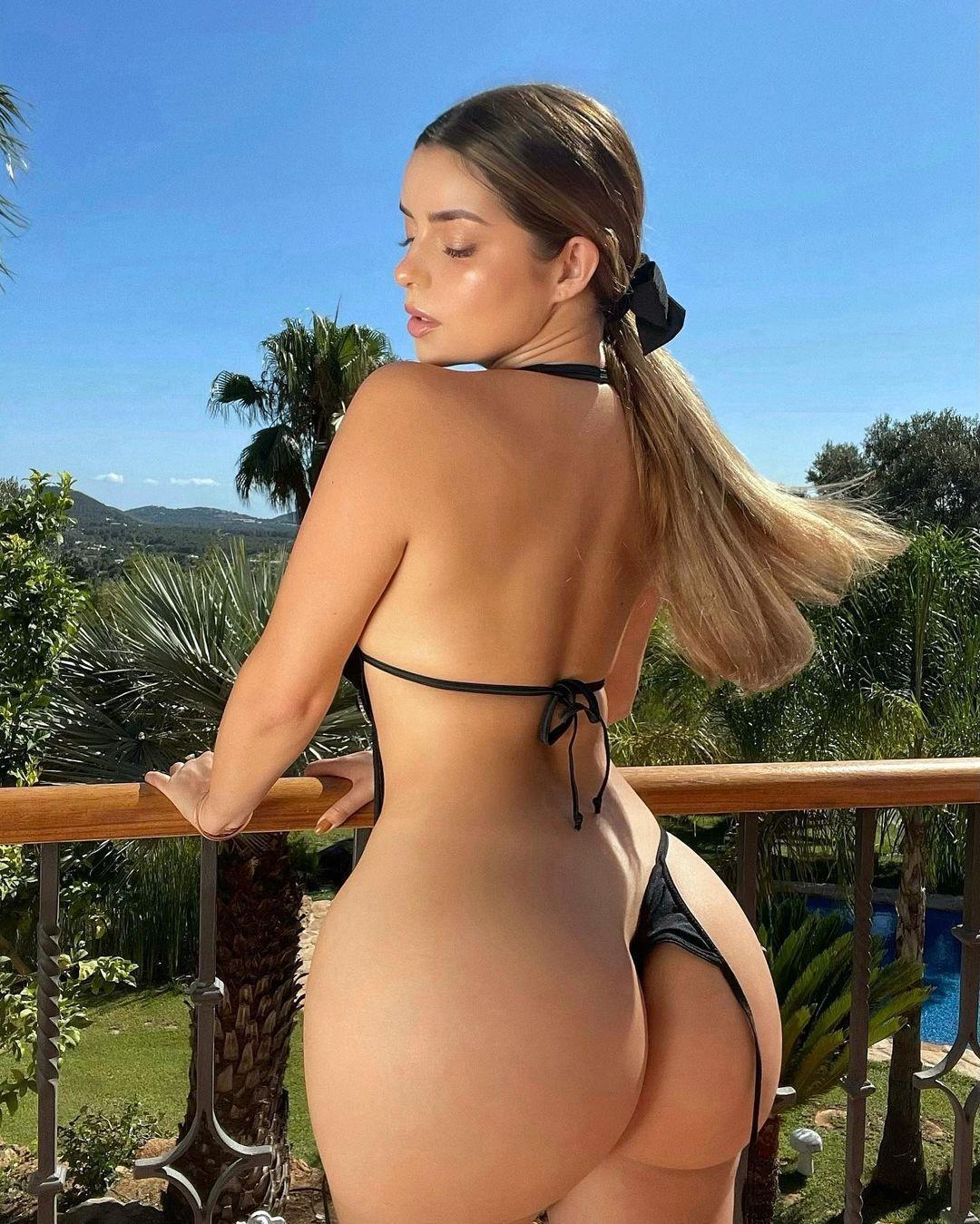 Demi Rose Big Ass In Tiny Bikini