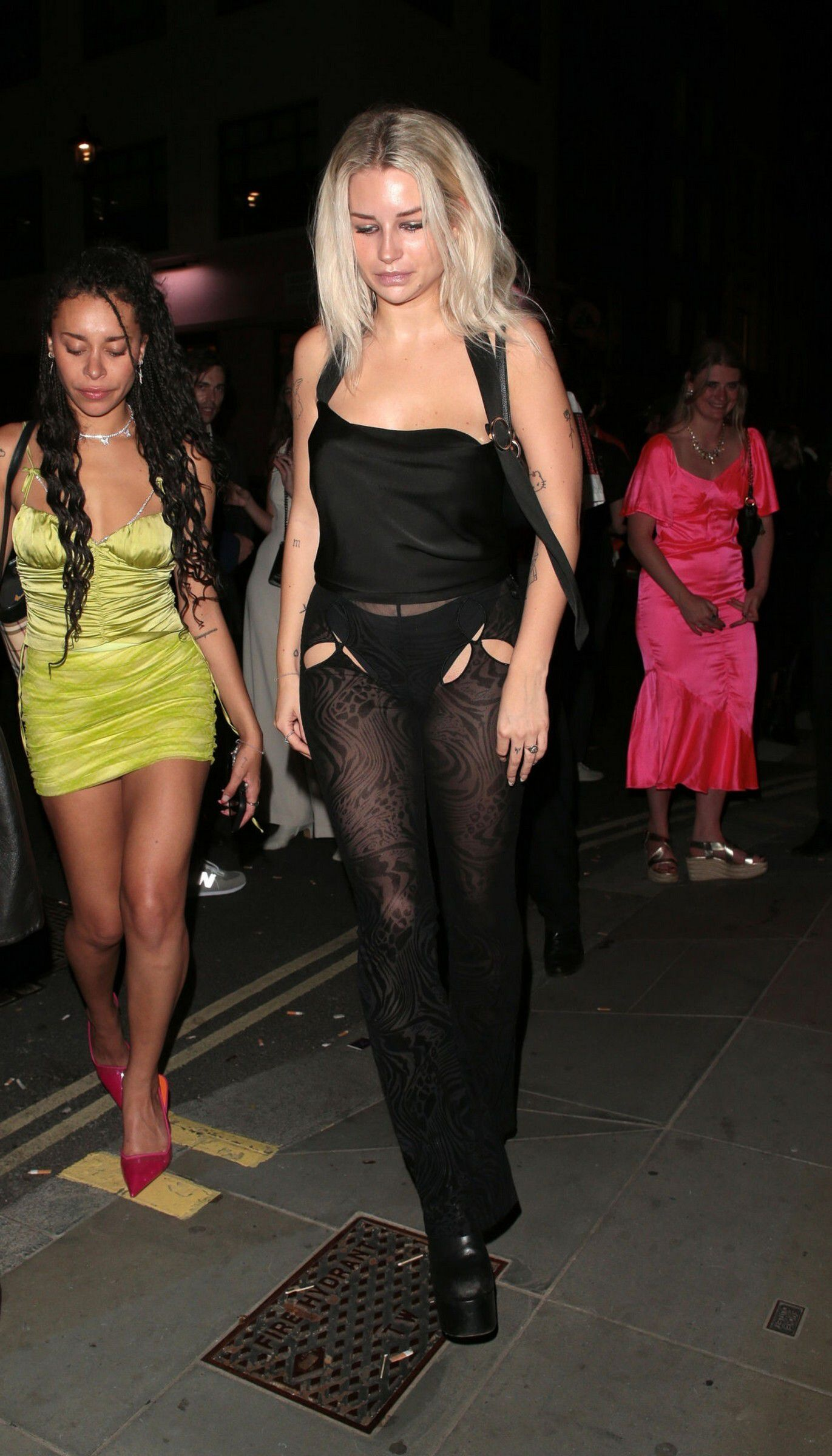 Lottie Moss Revealing Outfit