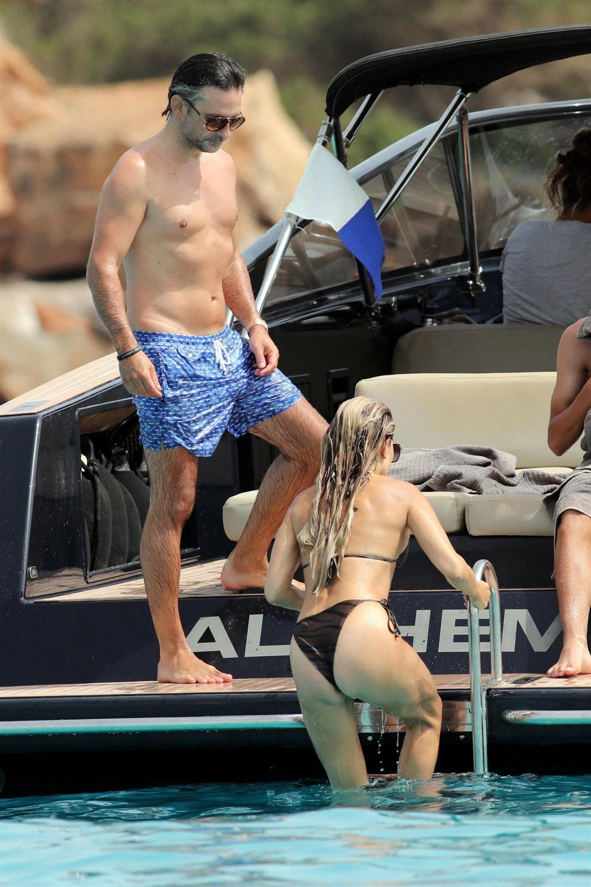 Sylvie Meis Beautiful In Bikini