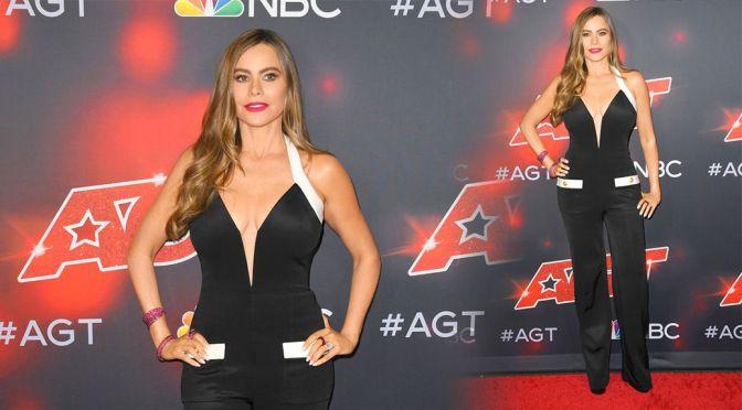 "Sofia Vergara – Beautiful Big Boobs at ""America's Got Talent"" Season 16 Live Show in Hollywood"