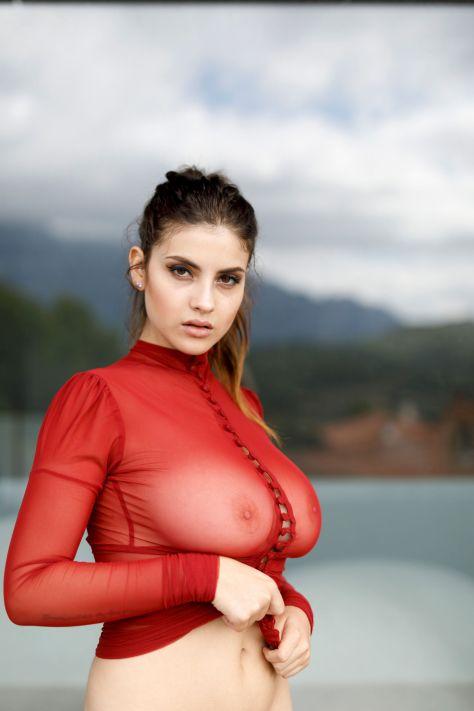 Judit Guerra Beautiful Big Boobs And Nipples