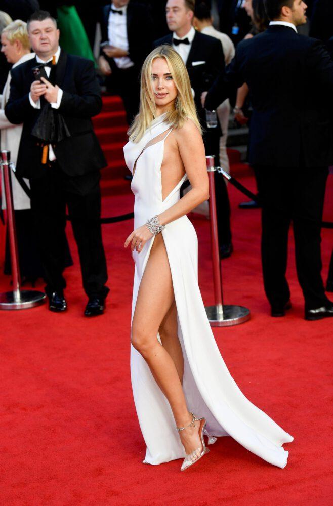 Kimberley Garner Gorgeous Legs And Panties