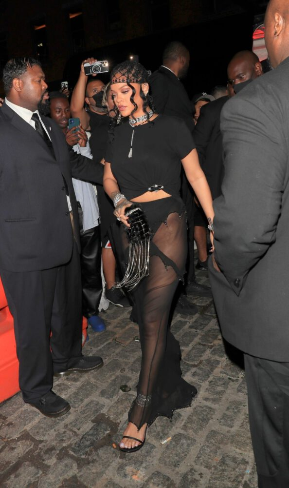 Rihanna Ass In Tiny Thong
