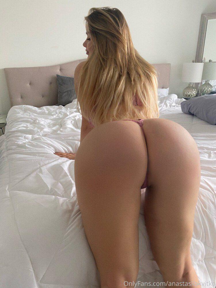 Anastasia Kvitko Big Ass In Thong Panties