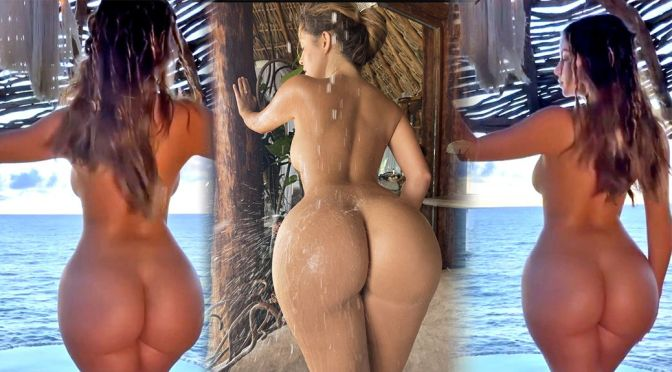 Demi Rose Mawby – Beautiful Big Ass in a Sexy Naked Video (NSFW)