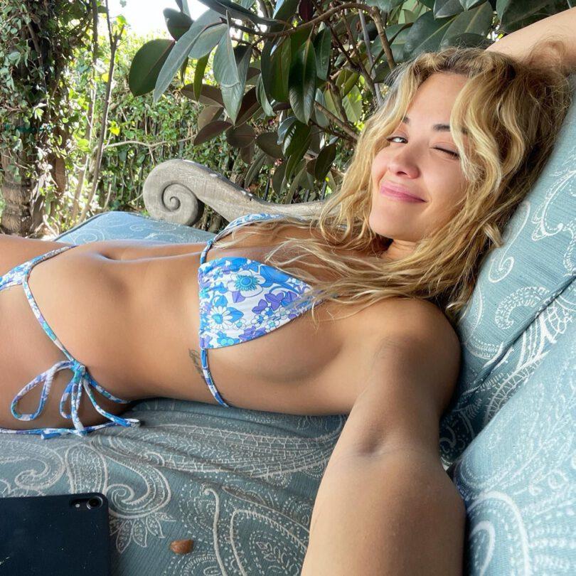 Rita Ora Fantastic Boobs