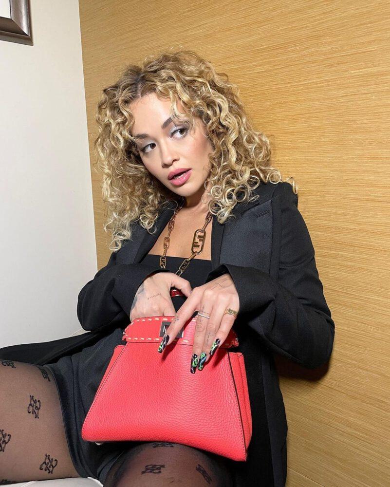 Rita Ora Gorgeous In Sexy Pantyhose
