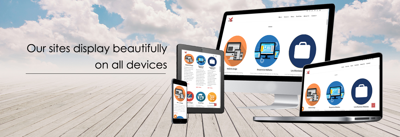 Sites display beautifully on all devices