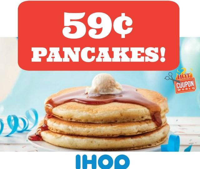 Ihop Pancakes No Ihop Coupons Needed